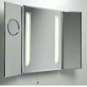 Aura 60cm Mirror Bathroom Cabinet With Led Lights Http Projec7 Info Pinterest Cabinets And Light Fixtures