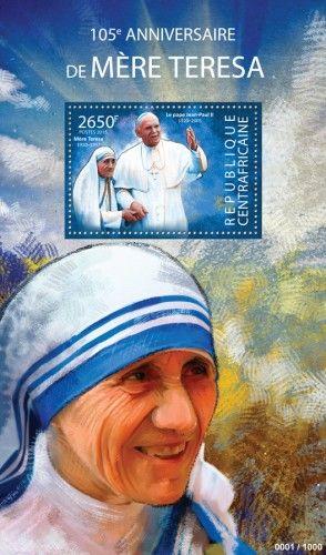 CA15315b 105th anniversary of Mother Teresa (Pope John Paul II )