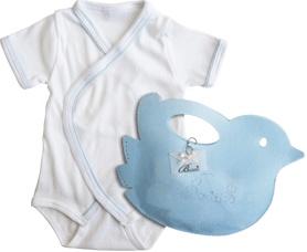 Scegli il modello di body che preferisci e regalalo all' interno di una simpatica confezione/borsetta a forma di uccellino.