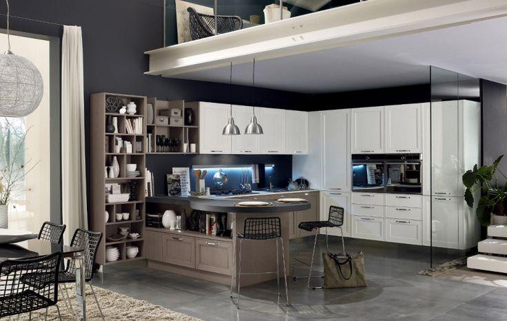 www.gfcucine.com - #Arredamento interni, #cucina modello Maxim by @stosacucine