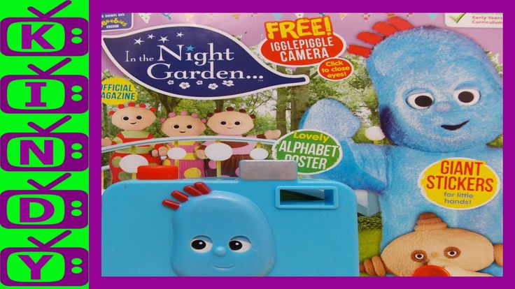 In The Night Garden Official magazine. Igglepiggle toy camera included.