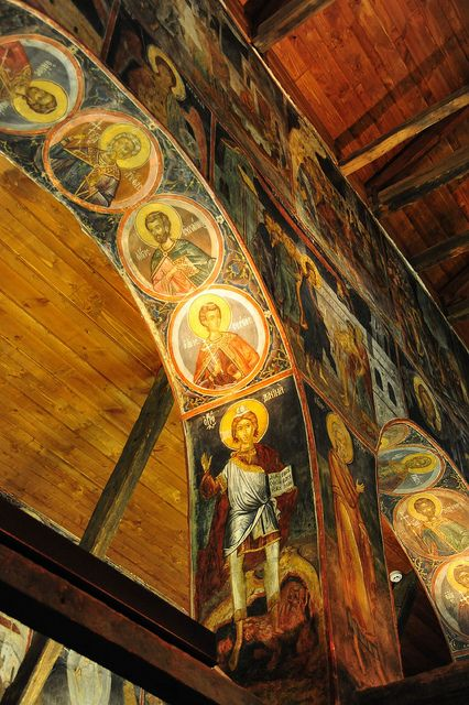 Painted arches, St. Stephen's Church, Nessebar, Bulgaria | Flickr - Photo Sharing!