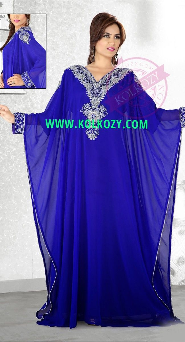 f8c90259ee Long Moroccan Arabic Evening Indian Kaftan Dress Abaya Jilbab