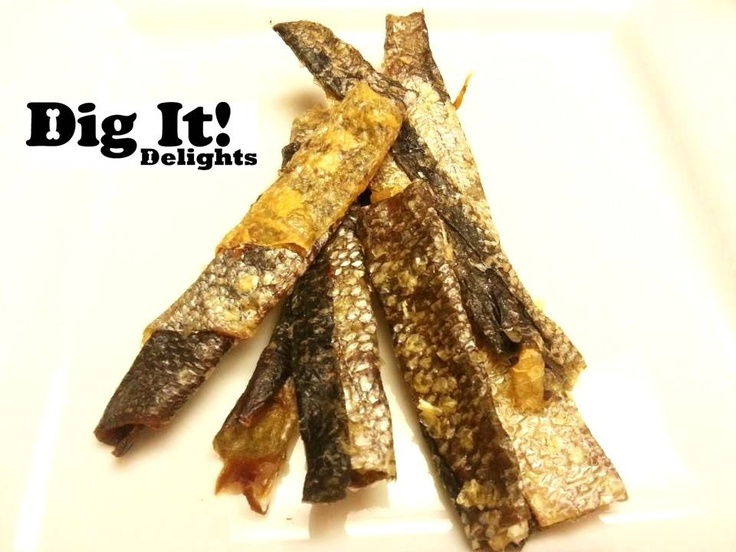 Dig It! Delights - Wild Pacific Salmon Skins