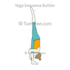 standing split pose variation nose to ankle yoga urdhva
