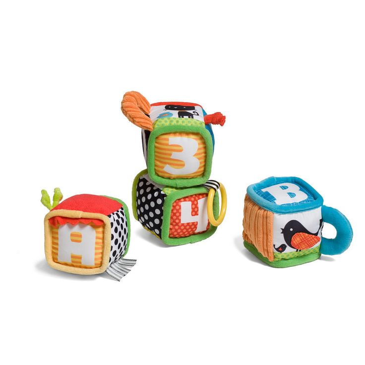 Infantino Discover and Play Soft Blocks Development Toy from Infantino - The Bump Baby Registry Catalog