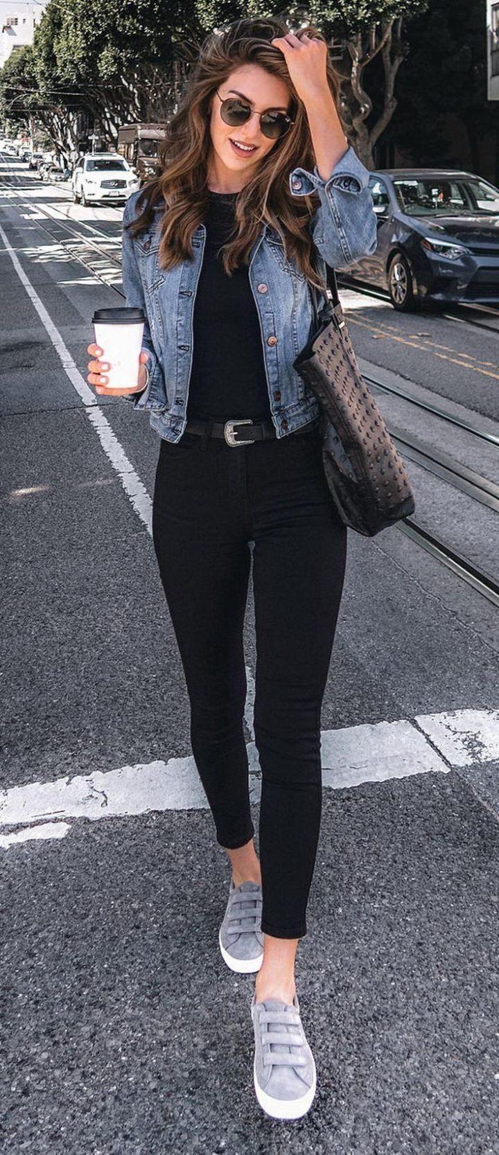 Frauen Kleiden Frühling 2019 – 32 wunderschöne Streetstyle-Outfits zum Schn…
