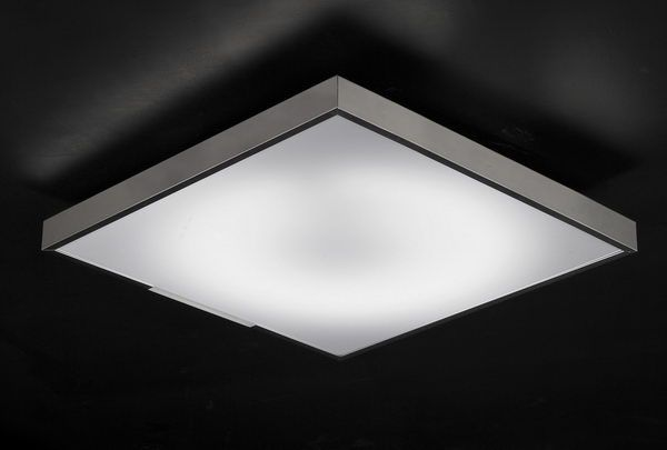 Simple Modern Style Square Ceiling Lamp 3DsMax Model Download Free