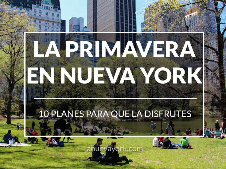 10 planes geniales para la primavera en Nueva York