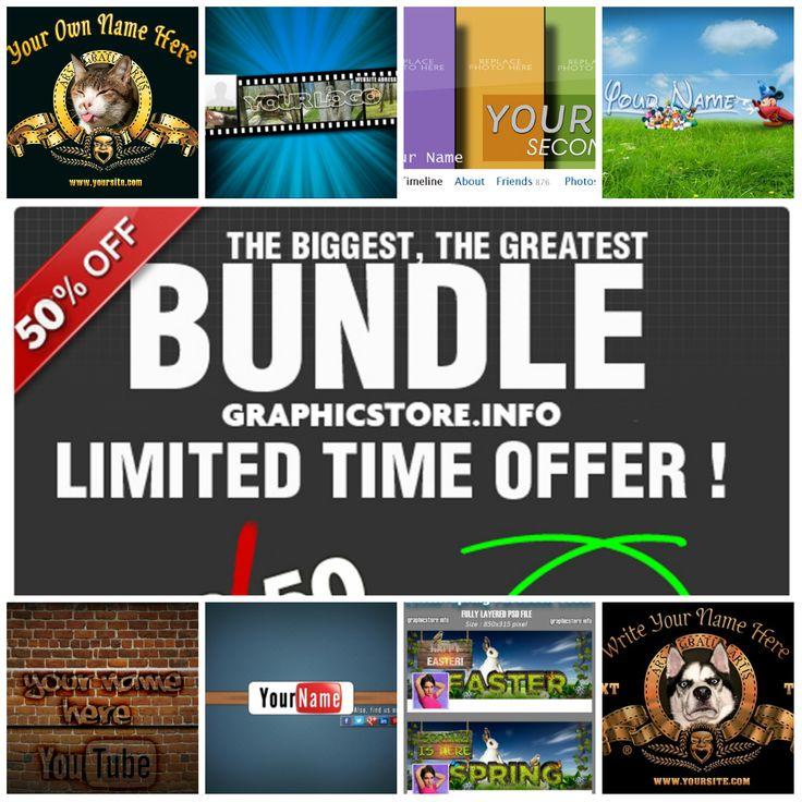 biggest graphic design bundle