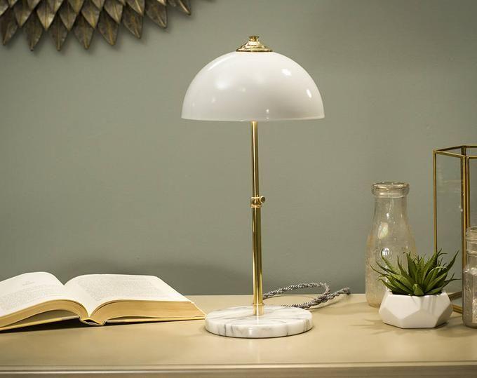 Lampe Edison Shadow Box Lampe De Table Lampe De Bureau Etsy Lamp Desk Lamp Table Lamp