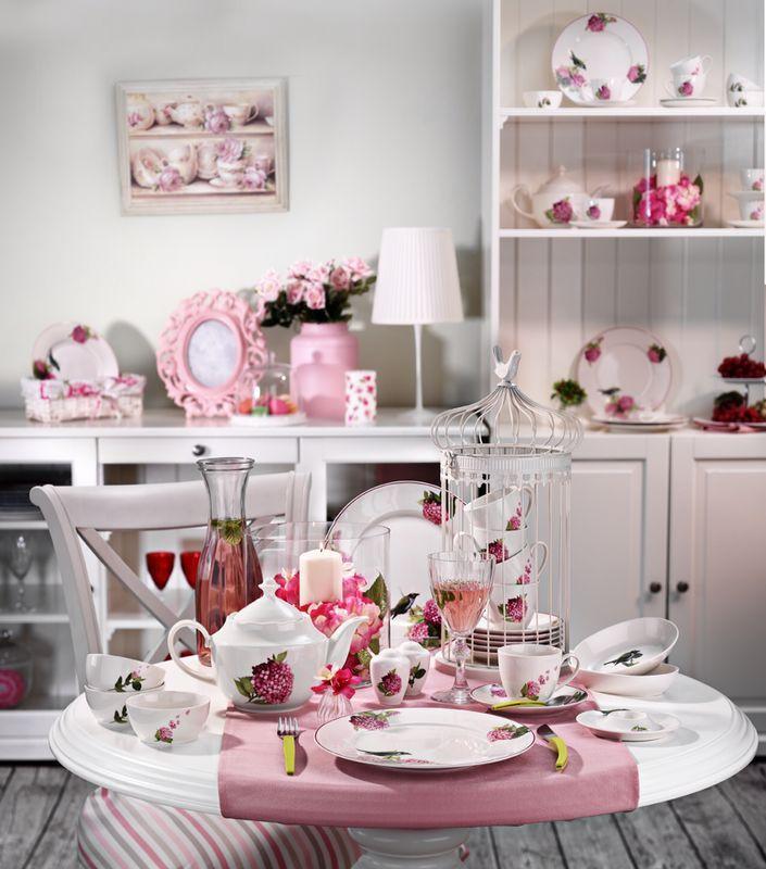 Leonberg Krem Kahvaltı Takımı #porselen #yemek #tabak