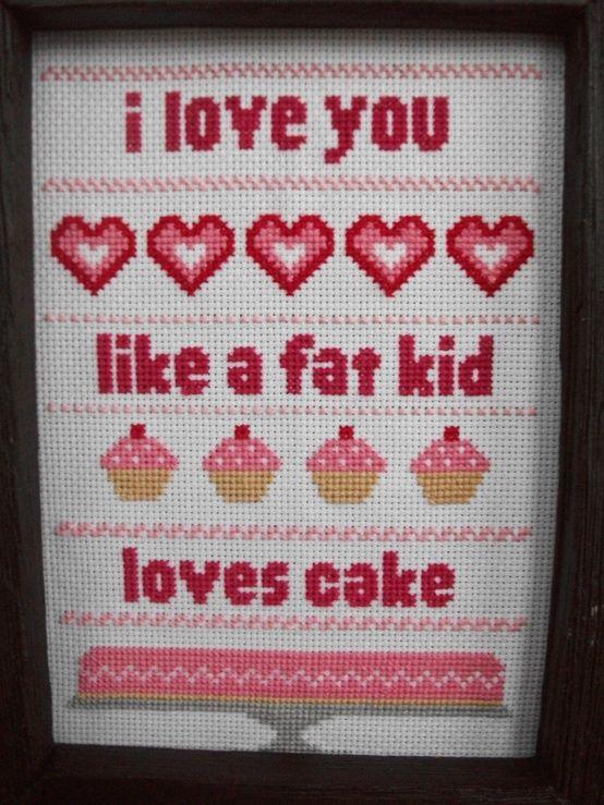 i love you like a fat kid loves cake matilda - photo #3