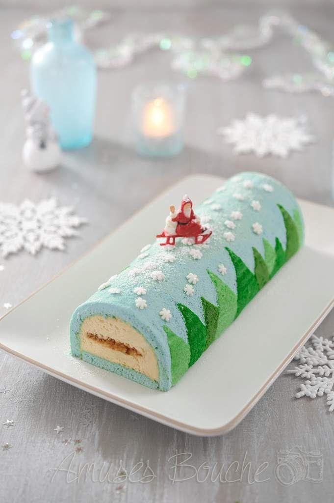 Voici une nouvelle bûche de Noël. Cette bûche est un mix entre mon gâteau roulé Halloween et ma bûche spéculoos framboise. J'ai voulu réaliser une bûche avec une génoise décorée dans la masse mais pas un gâteau roulé. C'était un test et comme tout le...