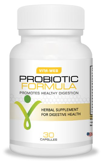 Vita-Web's probiotic blend contains a number of healthy organisms including bacillus subtilis.