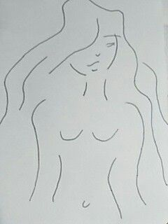 Dibujo chica