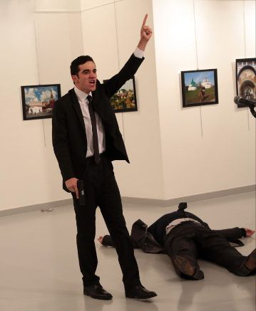 Russia's ambassador to Turkey, Andrey Karlov, was seriously wounded in a shooting at an art exhibition in Ankara.  Andrey Karlov, Russ...
