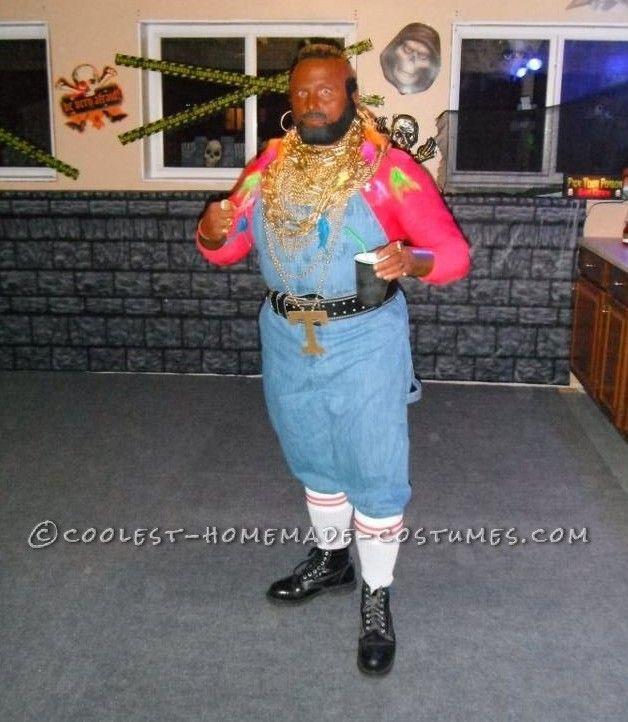 95 best popular celebrity halloween costumes images on pinterest coolest homemade mr t costume solutioingenieria Images