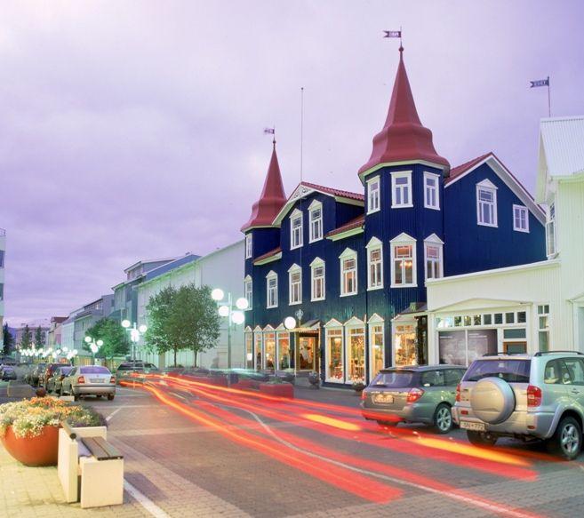 Akureyri, North Iceland