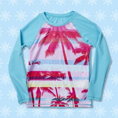 Pumpkin Patch Palm Rash Top - available in sizes 1 to 12 years http://www.pumpkinpatchkids.com/