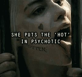 Harley Quinn GIF - Harley Quinn Psycho GIFs