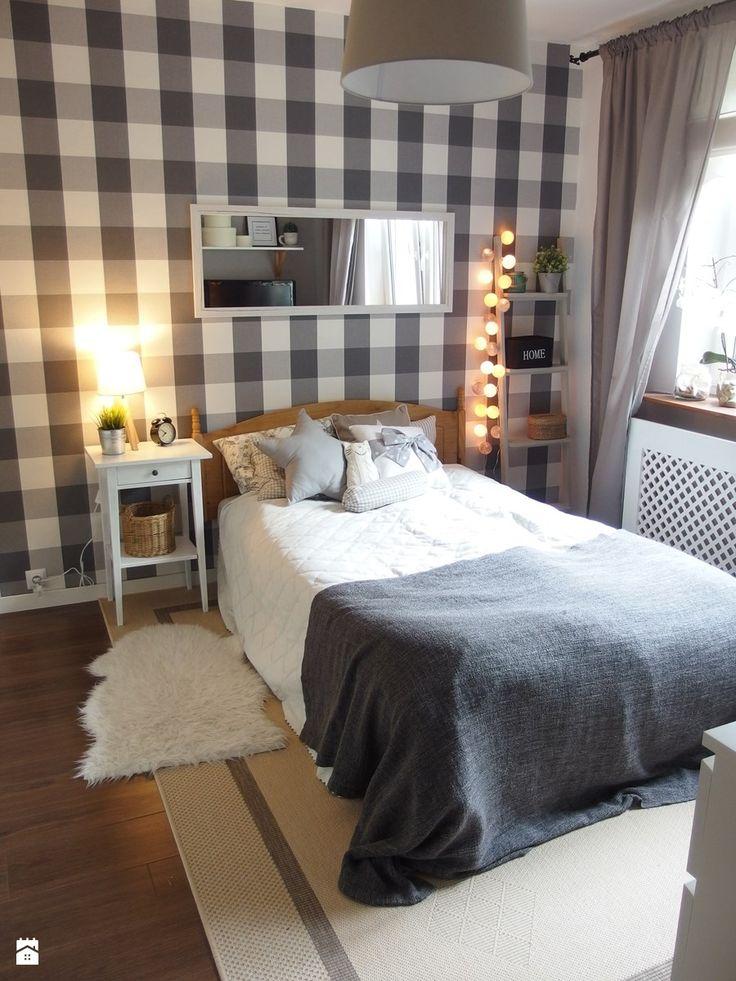 Mieszkanie hand made :) - Średnia sypialnia, styl tradycyjny - zdjęcie od karolina0606