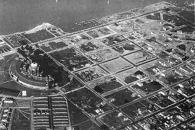 Pan Pacific grounds after buildings were demolished