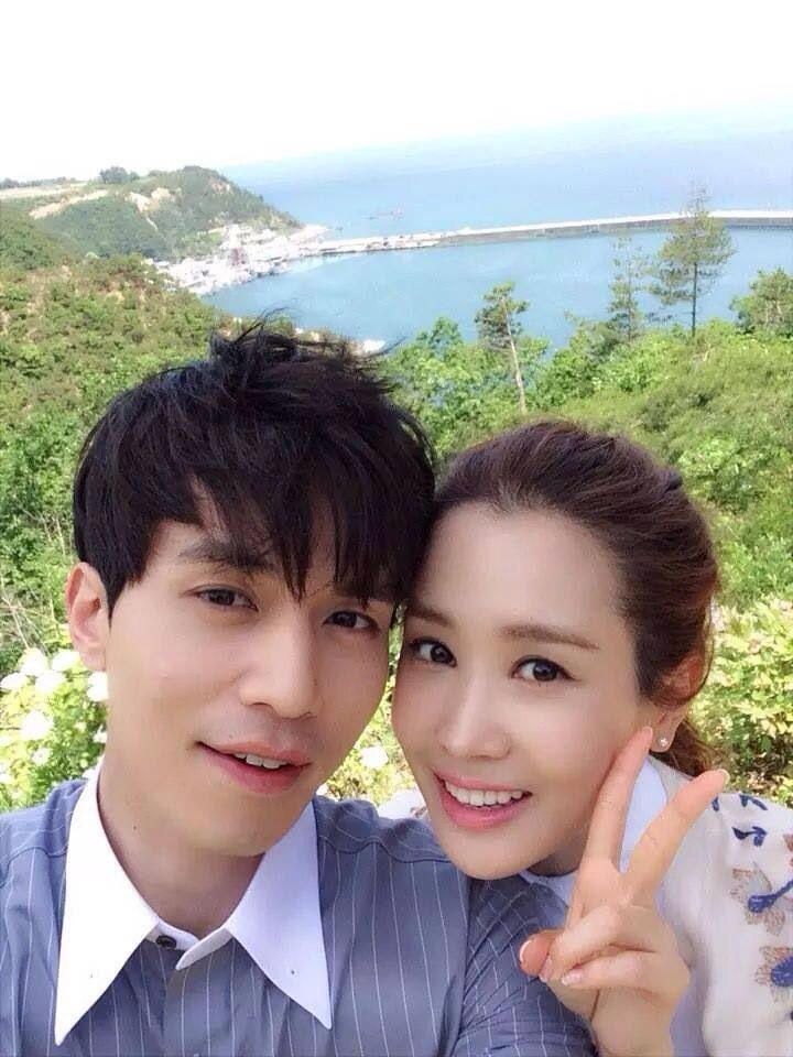 Lee Dong Wook and Lee Da Hae / Hotel King