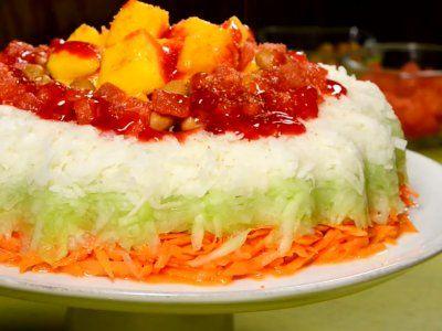 Receta de Rosca de Verduras con Chamoy y Dulces Picositos