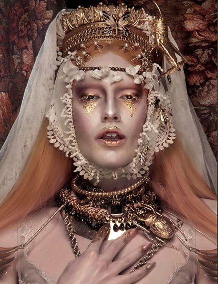 Underworld Queen Editorials : Schon Magazine 'Persephone'...LadyLuxeLaFemmina The Diamond Queen