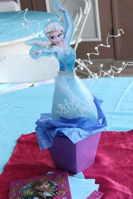 Frozen Disney's Birthday Party Ideas | Frozen party
