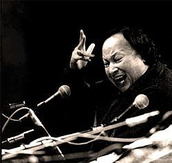Nusrat Fateh Ali Khan 03 1987 Royal Albert Hall. Considered as the greatest voice ever recorded, he possessed an extraordinary range of vocal abilities and could perform at a high level of intensity for several hours.