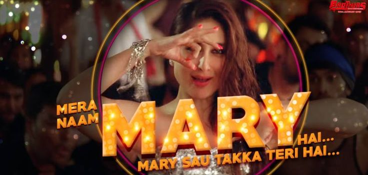 """Kareena Kapoor Khan sizzle in the hottest song of the year """"Mary Naam Mary'."""