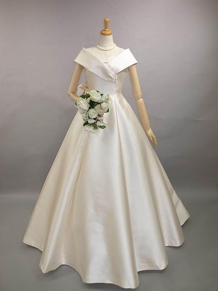 Couture yoshie dressシルク ウェディングドレス レンタル