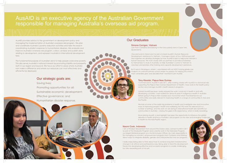 AusAID Graduate bruchures