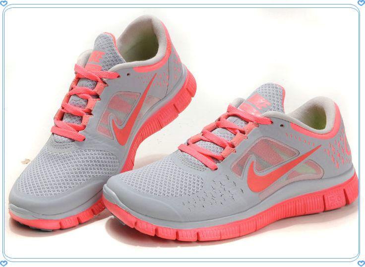 Nike Free Run 3 Des Femmes De Corail Ouvert Au Royaume-uni
