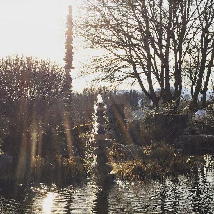 Die besten 25+ Steinbrunnen Ideen auf Pinterest Steinbrunnen - steinbrunnen selber bauen anleitung