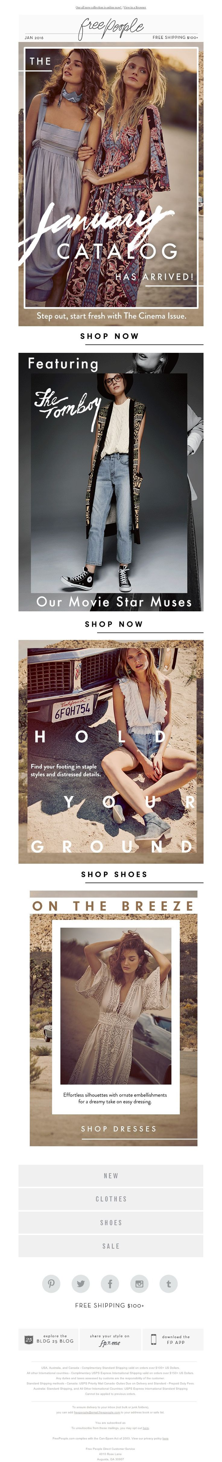 Free People - It's (finally) HERE!