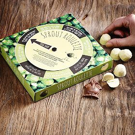 Chocolate-Sprout-Roulette from Lakeland http://www.lakeland.co.uk/60590/Chocolate-Sprout-Roulette?src=pinit