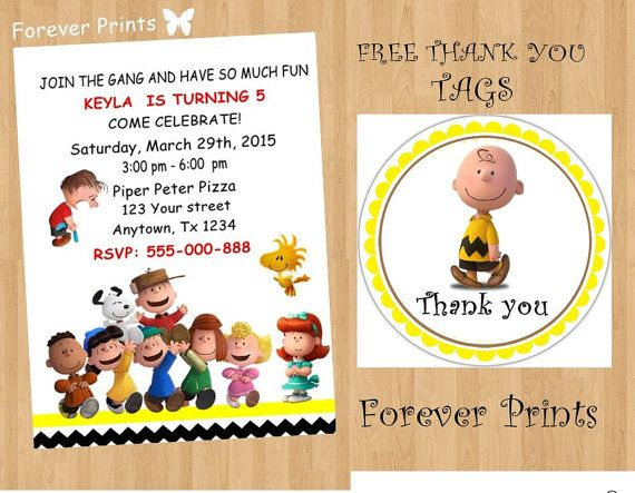 55 best Snoopy Party images – Snoopy Party Invitations