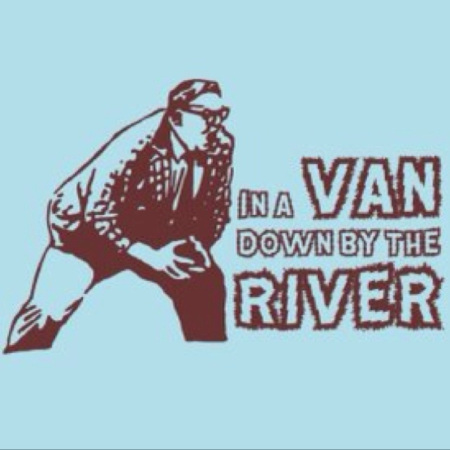 I told my mom I wanted to be a motivational speaker.  She said as long as I don't end up living in a van down by the river #lol #true #SNL