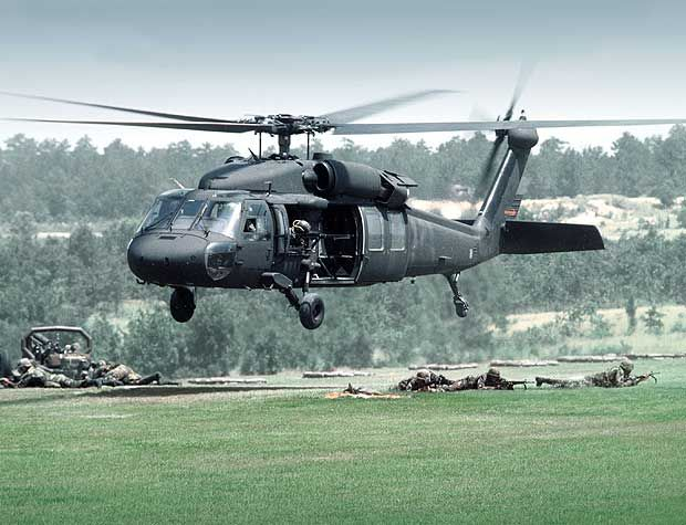 The UH-60 Black Hawk. The MH-60S has the Black Hawk's provisions for mounting the external pylons to carry stores and equipment. - Image - Airforce Technology