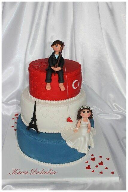 A Dutch/Turkish Wedding cake. – #Cake #DutchTurkis…