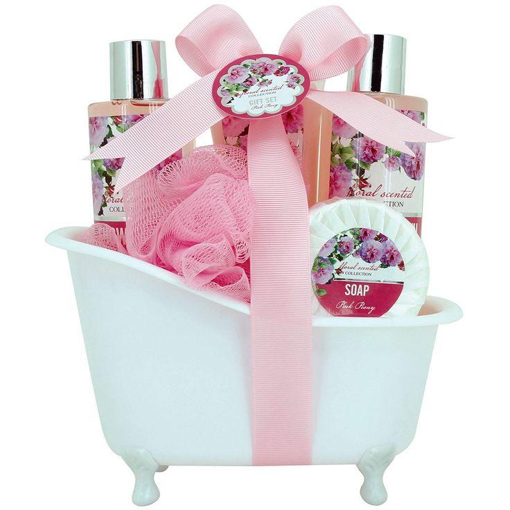 Gloss! Baignoire de Bain Floral Scented Pivoine 5 Pièces: Amazon.fr: Beauté et Parfum
