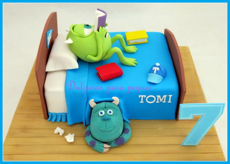 Monster University - http://cakesdecor.com/cakes/295428-monster-university