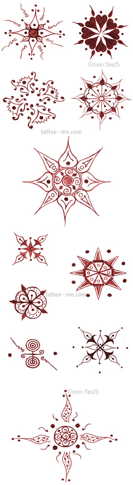 Image detail for -Tattoo-Me Henna Kits, Temporary Henna Tattoos, Body Art Painting