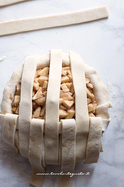 Come fare l'intreccio su una crostata 3 - Intreccio perfetto per crostate e pie