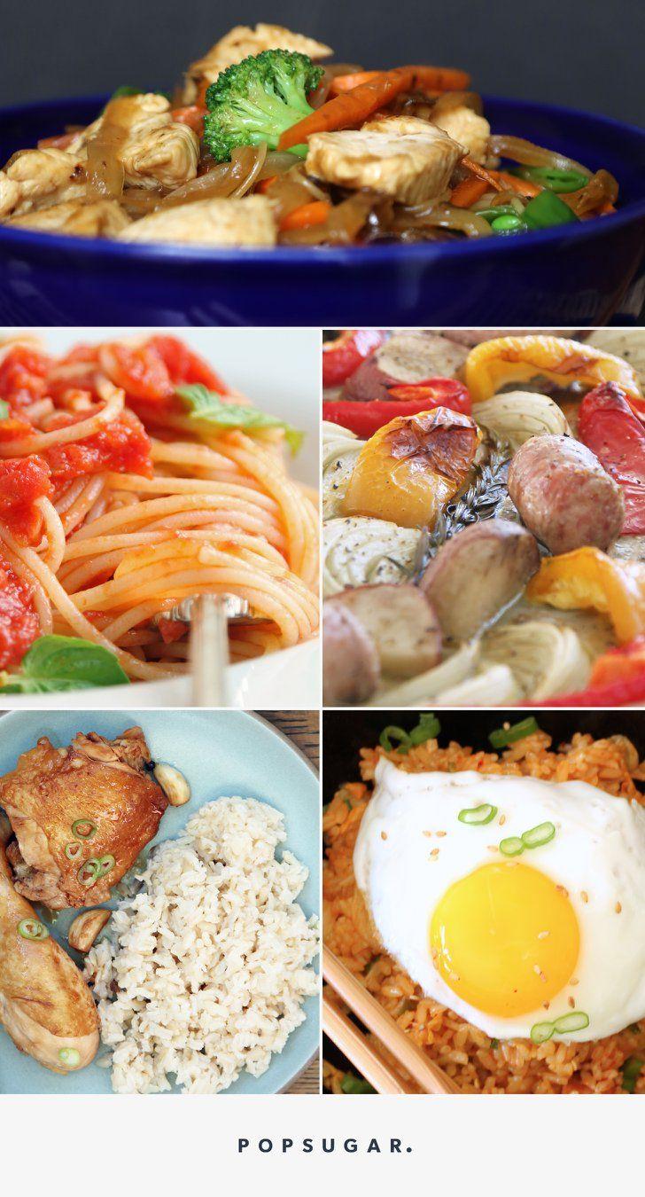 Food Ideas For Tonight