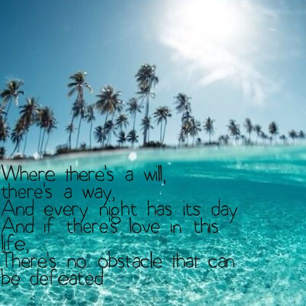 Waiting for love, Avicii / music lyrics / where there's a will there's a way ❤️