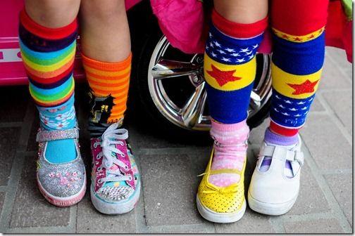 wacky socks | Welcome To The Show